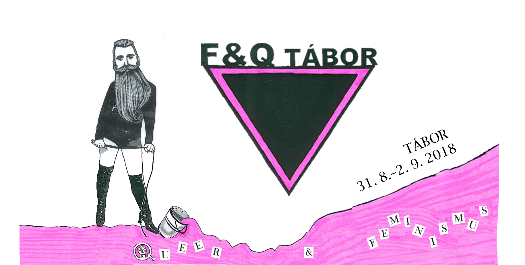 Feministický a queer tábor/feminist and queer camp 2018